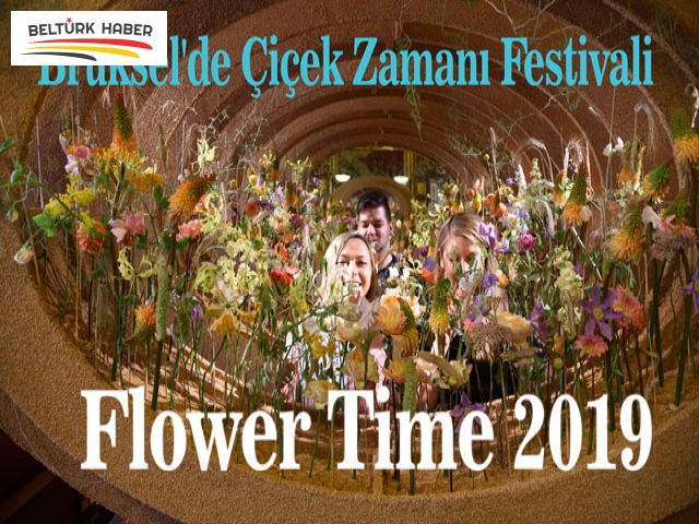 Brüksel'de Çiçek Zamanı Festivali