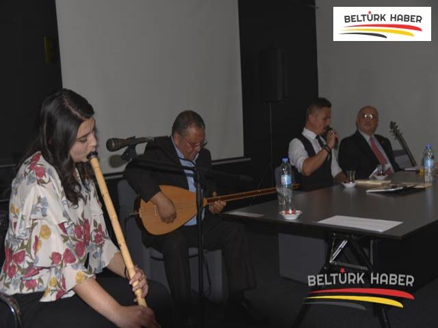"""CHP Belçika Birliği """"Şiir ve Müzik Dinletisi"""" düzenlendi"""