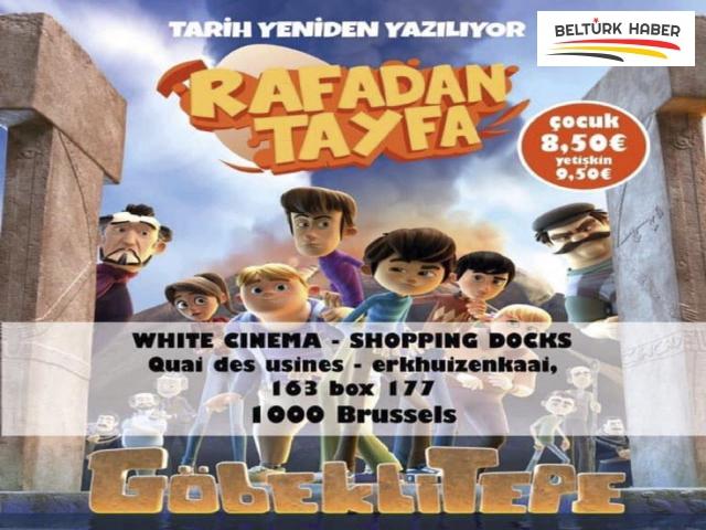 'Rafadan Tayfa: Göbeklitepe' Docks Bruxsel'de