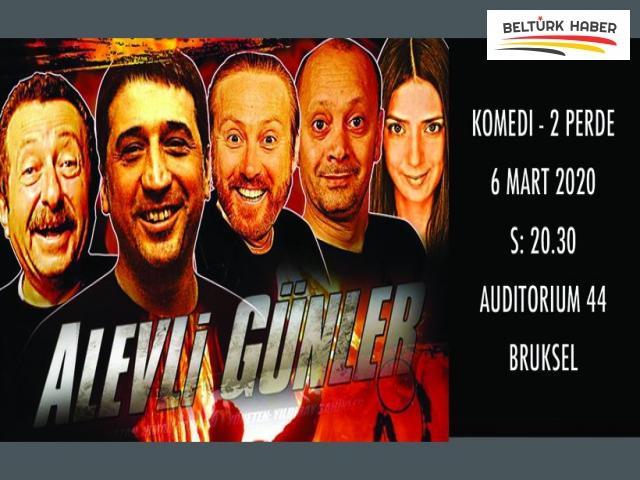 """""""Alevli Günler"""" Belçika seyircisiyle buluşuyor"""