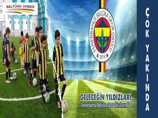 Fenerbahçe Belçika Spor Okulları hizmete giriyor.