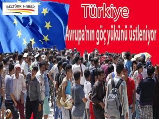 Türkiye Avrupa'nın göç yükünü üstleniyor