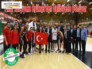 Pınar Karşıyaka Brüksel'den Galibiyetle Dönüyor